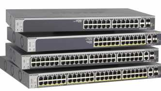 Koppelbare Switches von Netgear