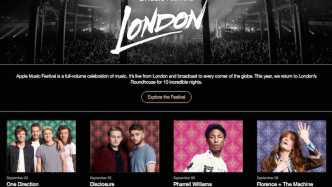 Apple Music Festival im September