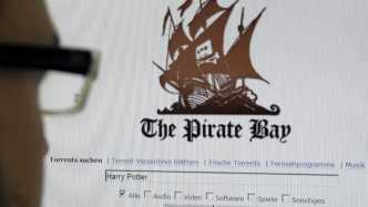 User vor Website The Pirate Bay