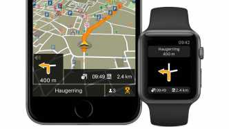Navigon auf der Apple Watch