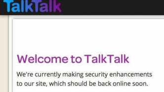 Talktalk-Website