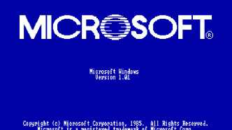 30 Jahre Windows: Windows 1.0.1