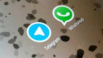 Whatsapp und Telegram