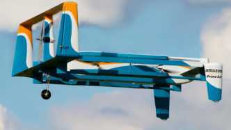 Amazon Prime Air: Amazon-Lieferdrohne
