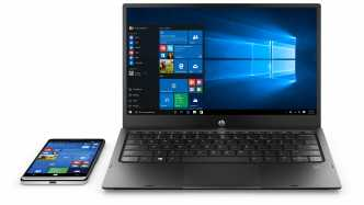 HP Elite X3: High-End-Smartphone mit Windows und Notebook-Hülle