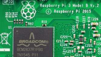 Broadcom BCM2837 auf Raspberry Pi 3 Model B