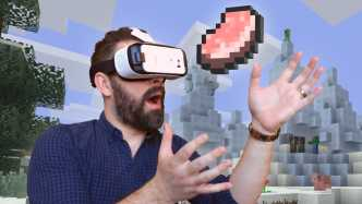 Virtual Reality: Minecraft läuft nun auf Samsungs GearVR