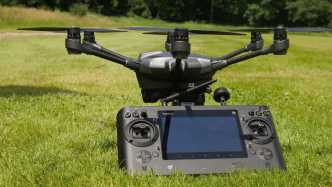 Hexacopter mit Anti-Kollionssystem von Intel