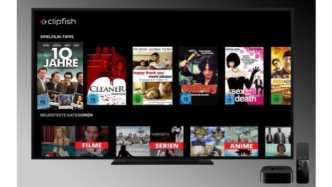 Clipfish für Apple TV