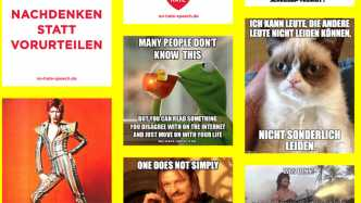 Haters gonna hate: Kampagne fordert Konter gegen Hasskommentare