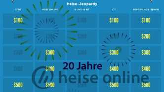 heise-User-Party: Die letzten Jeopardy