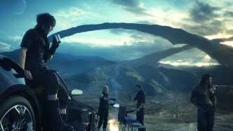 Final Fantasy XV: Anime-Halbstarke im Road-Movie