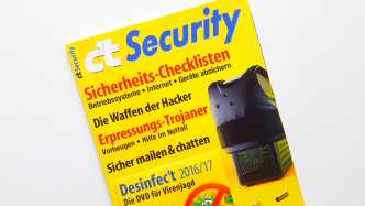 Sonderheft c't Security 2016 ab sofort im Handel