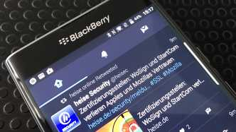 BlackBerry verspricht Android Updates