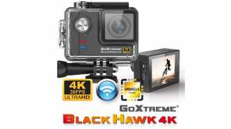 ActionCam: BlackHawk 4K Ultra HD von GoXtreme