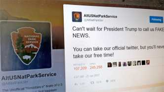 Trumps Behörden-Maulkorb: Alternative Twitter-Accounts organisieren Widerspruch