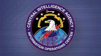 "Rundsiegel ""CIA - Informations Operations Center"""