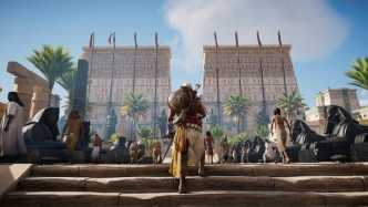 """Assassin's Creed Origins"" angespielt: Klettern in Memphis"