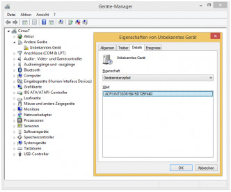 Device Manager ACPI\INT33D6