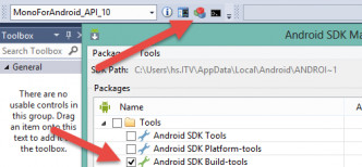 Installation der Android SDK Build Tools (Abb. 3)
