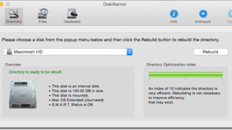 Mac-Datenretter DiskWarrior in neuer Version