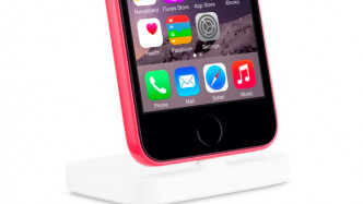 Apple Store zeigt iPhone 5c mit Touch ID