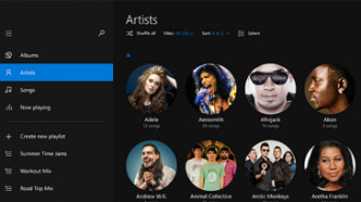 Spotify-Look: Vorabversion von Musik-App für Windows 10