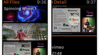 Medienspieler VLC bringt Apple-Watch-App