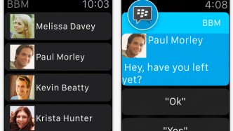 BBM auf der Apple Watch