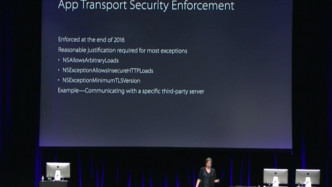 App Transport Security