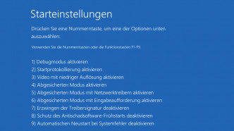 Windows 10 Version 1607 friert PC ein