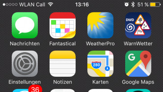 WLAN Call iPhone