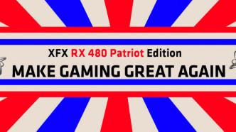 Make Gaming Great Again: Patriotische Trump-Grafikkarten von XFX