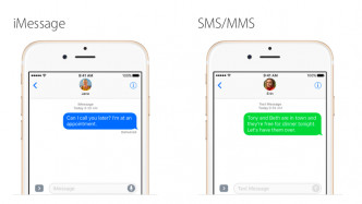 iMessage SMS