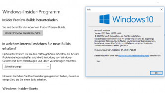 Windows 10 Insider Preview mit neuen Sicherheitsmechanismen