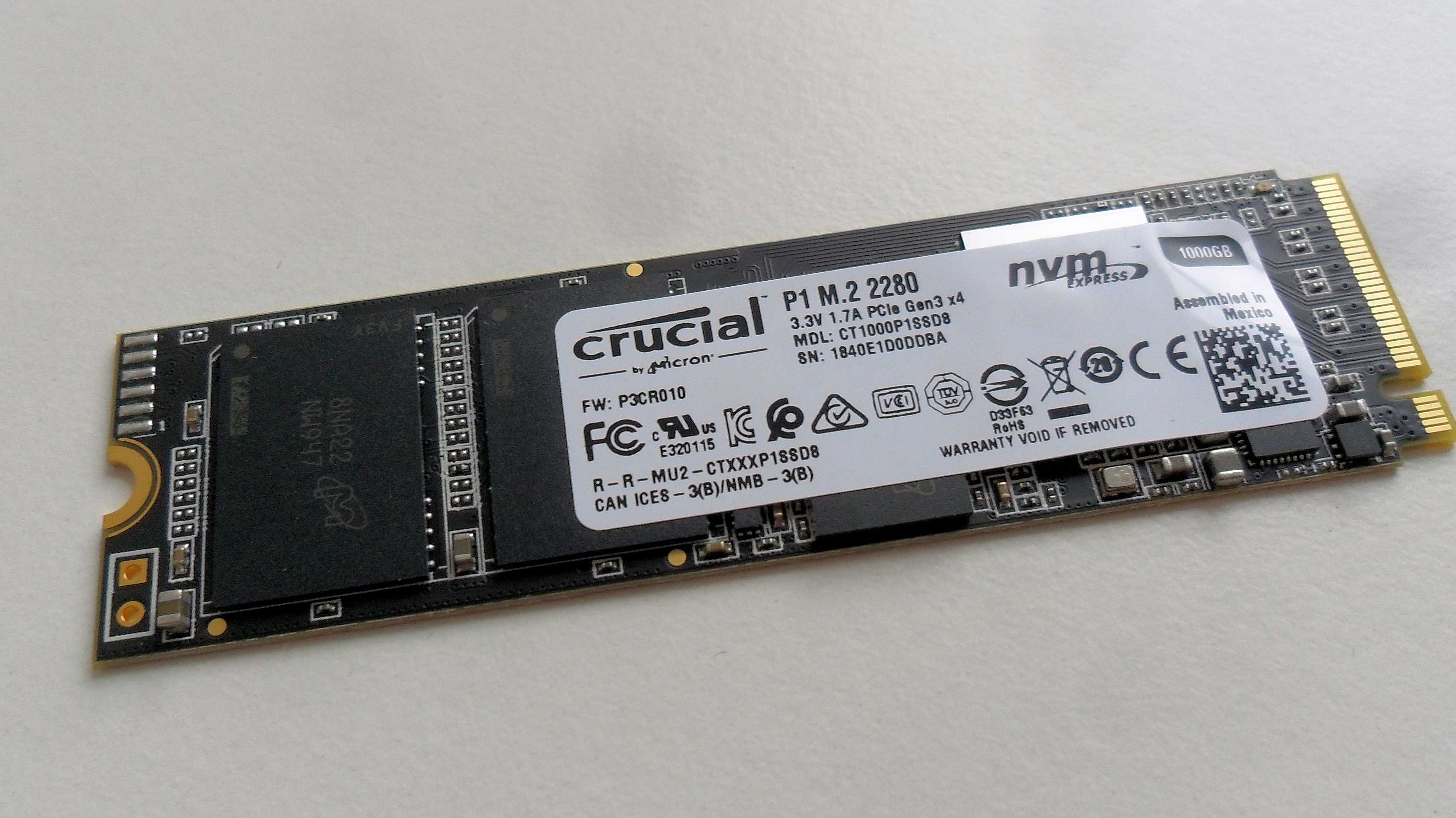 Crucial bringt PCIe-SSD mit QLC-Flash