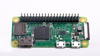 Raspberry Pi Zero WH: vorgelötete Pins und neue Software