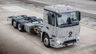 Elektro-Lkw eActros: Daimler will Elektro-Lastwagen ab 2021 in Serie bauen