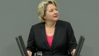 """Bundesumweltministerin will Klimaschutz-Vorreiterrolle """"wiederbleben"""""""