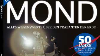 """50 Jahre Mondlandung: Sonderheft der """"SPACE"""" zum Mond"""