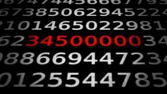 Zahlen, bitte! Mit 34,5 Millionen Newton zum Mond