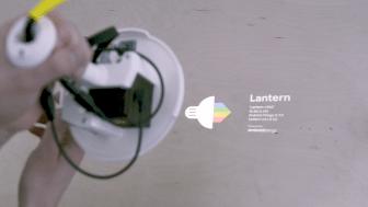 Lantern: eine Ikea-Lampe mit eingebautem Raspberry Pi und Android Things