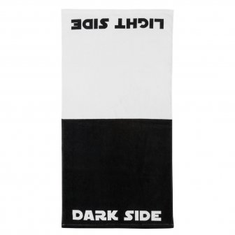Dark Side / Light Side Strand- und Badehandtuch