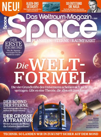Space Weltraum Magazin 01/2020