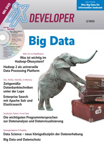 iX Developer Big Data 2015