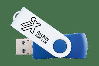 iX Archiv 1988-2020 USB-Stick
