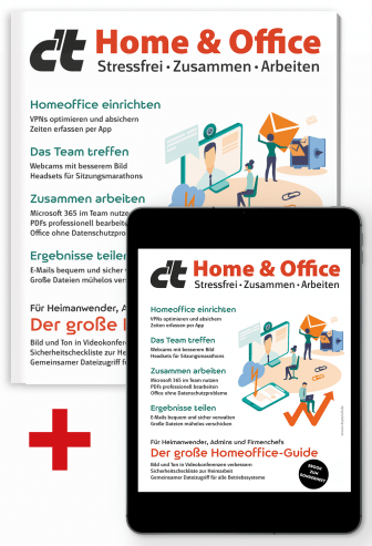 Bundle c't Home & Office 2021 (Heft + PDF)
