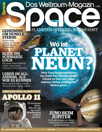 Space Weltraum Magazin 1/2018