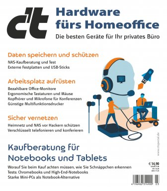 c't Hardware fürs Homeoffice 2021