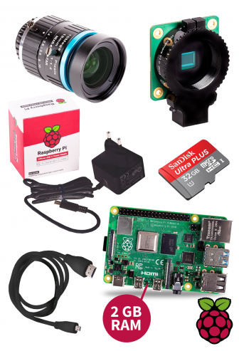 Bundle Raspberry Pi 4 Kameraset